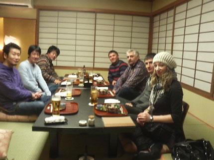 外国の方と食事会
