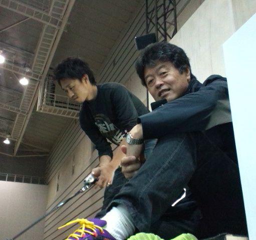国際フィッシングショー2012前日。