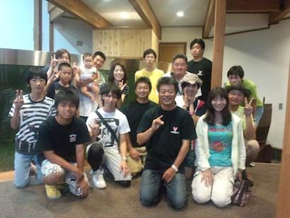 イベント参加者と記念撮影