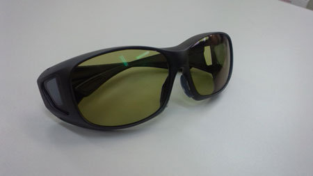 特注品のサングラス